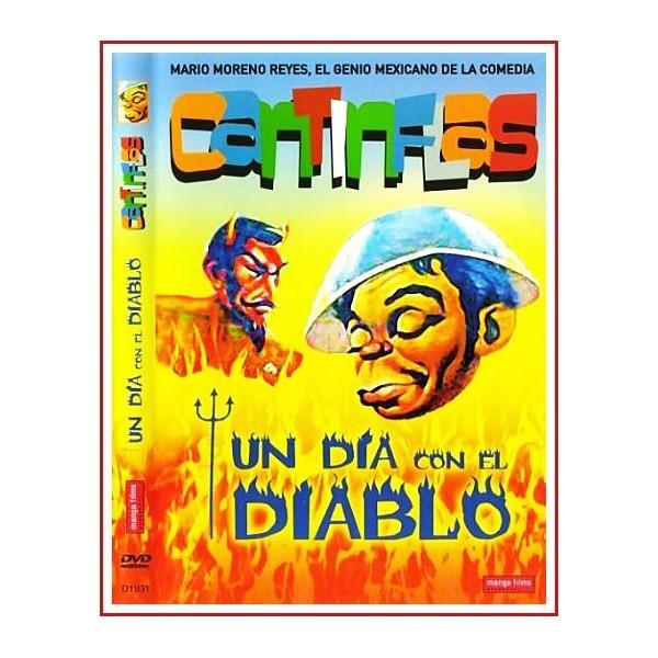 UN DÍA CON EL DIABLO CANTINFLAS DVD 1945 Director Miguel M. Delgado