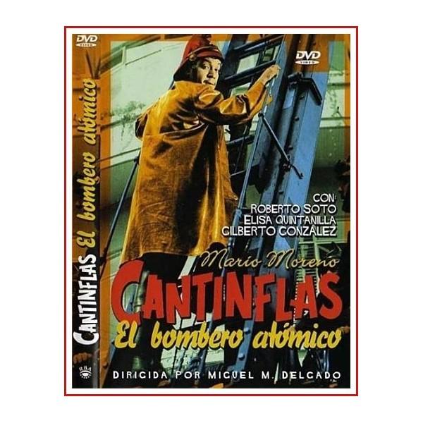 CANTINFLAS EL BOMBERO ATOMICO DVD 1952 Dirigida por Miguel M. Delgado