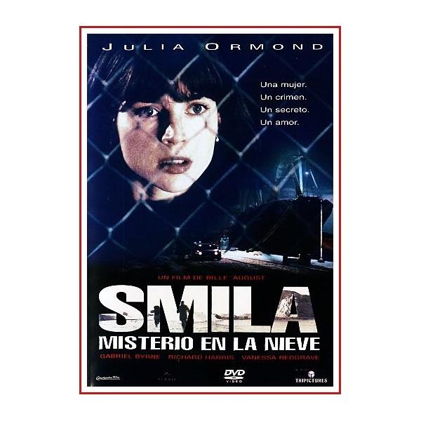 CARATULA ORIGINAL DVD SMILA MISTERIO EN LA NIEVE