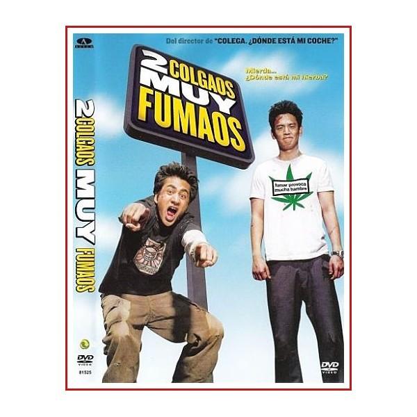 CARATULA ORIGINAL DVD DOS COLGAOS MUY FUMAOS