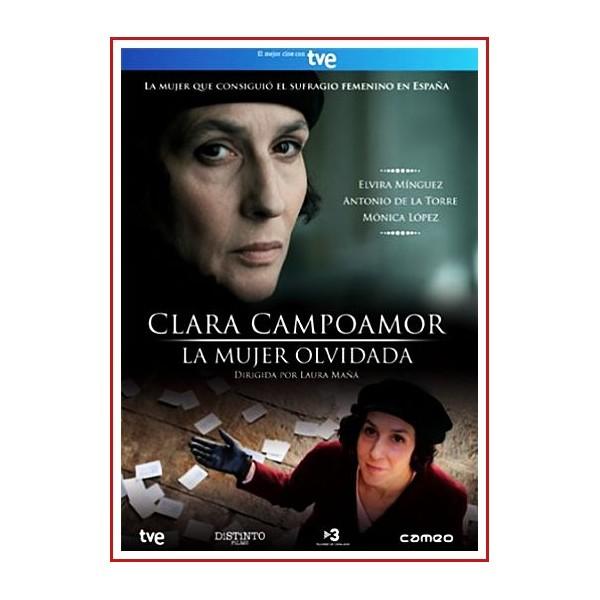 CLARA CAMPOAMOR SUFRAGIO UNIVERSAL DVD 2011 Directora Laura Mañá