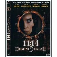 11:14 DESTINO FATAL DVD 2003 Suspense Dirección Greg Marcks