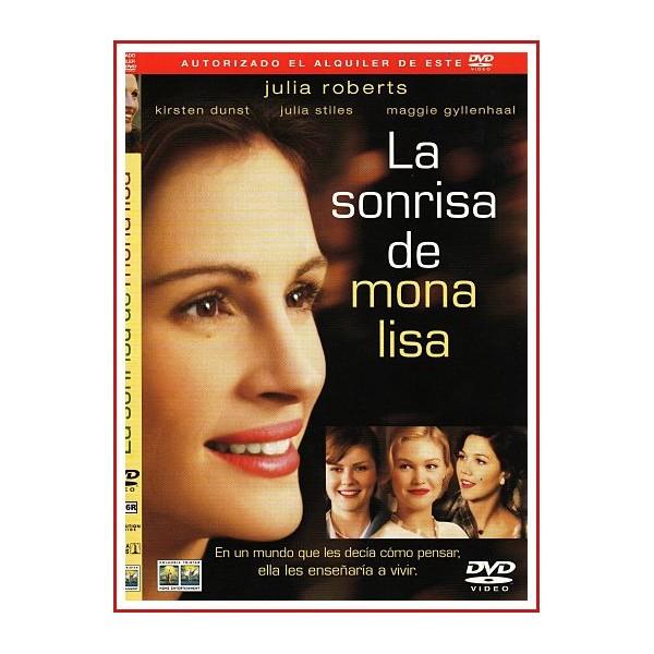CARATULA ORIGINAL DVD LA SONRISA DE MONA LISA
