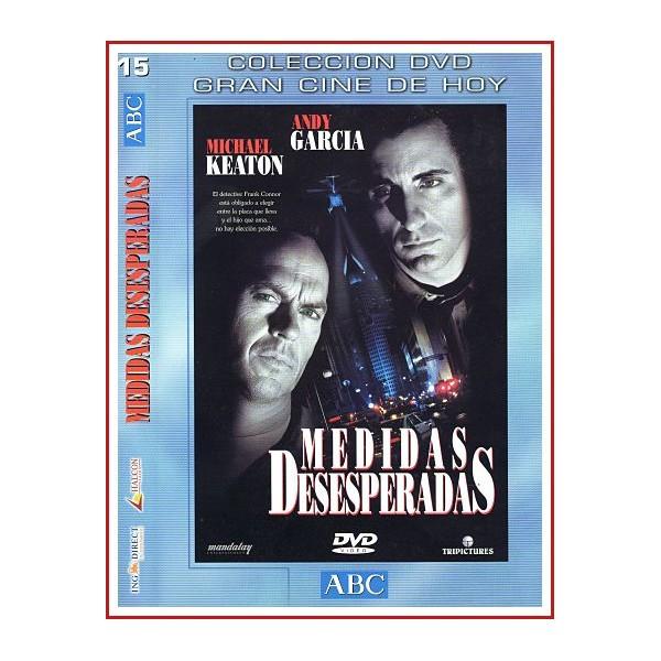 CARATULA ORIGINAL DVD MEDIDAS DESESPERADAS