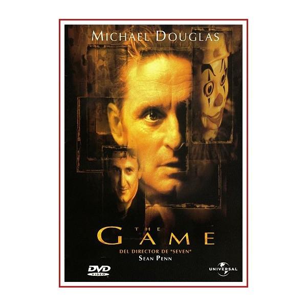 CARATULA ORIGINAL DVD THE GAME