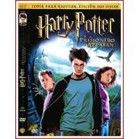 HARRY POTTER Y EL PRISIONERO DE AZKABAN EDICIÓN DOS DISCOS DVD 2004