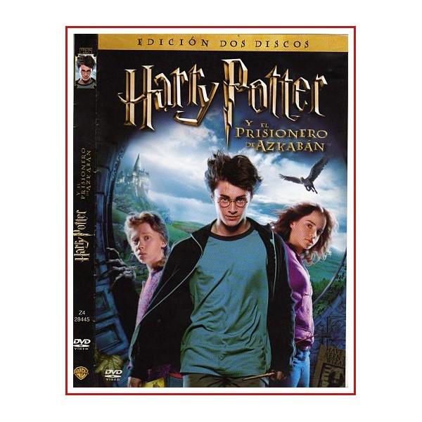 CARATULA DVD HARRY POTTER Y EL PRISIONERO DE AZKABAN EDICIÓN DOS DISCOS