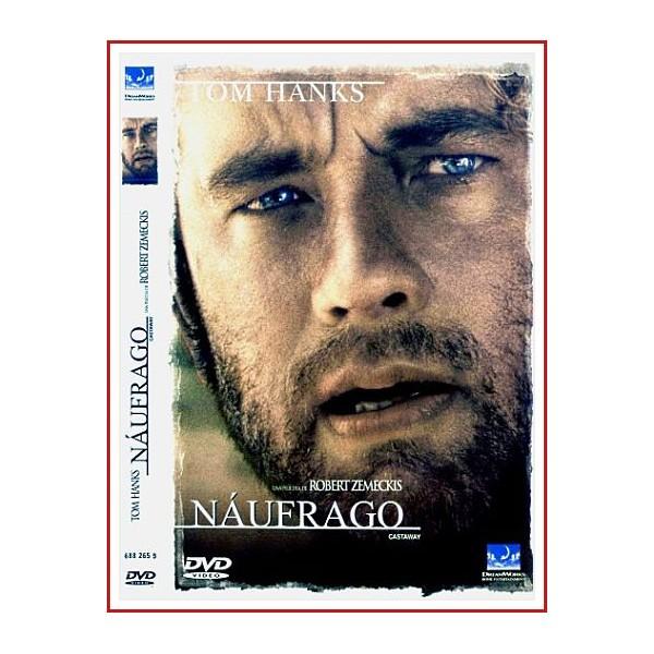 CARATULA ORIGINAL DVD NÁUFRAGO