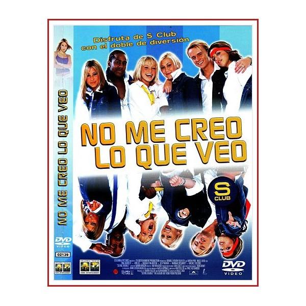 CARATULA ORIGINAL DVD NO ME CREO LO QUE VEO