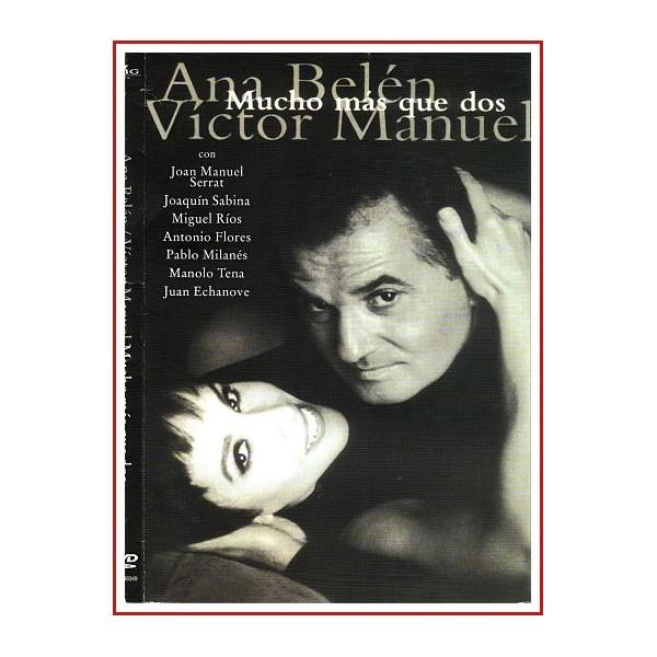 CARATULA ORIGINAL DVD MUCHO MÁS QUE DOS ANA BELÉN - VICTOR MANUEL
