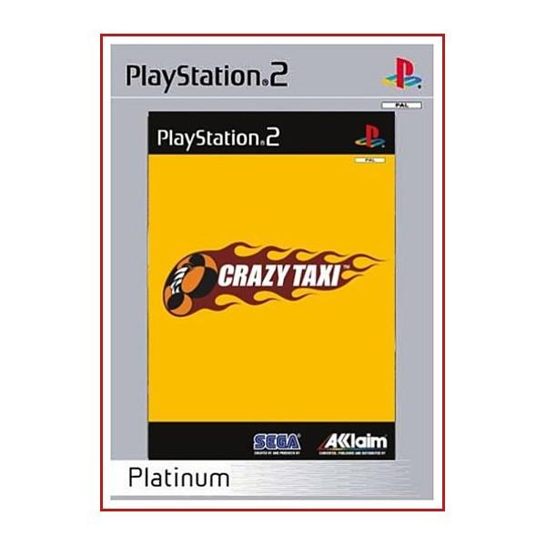 CARATULA ORIGINAL PS2 GRAZY TAXI