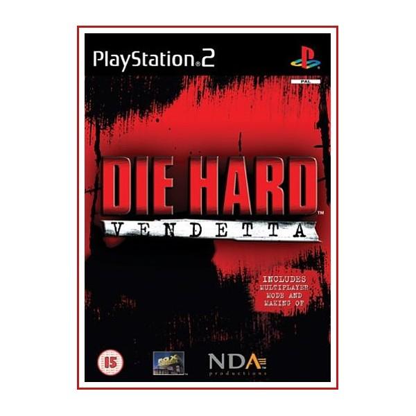 CARATULA ORIGINAL PS2 DIE HARD VENDETTA