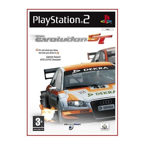 CARAUTULA ORIGINAL PS2 EVOLUTION GT
