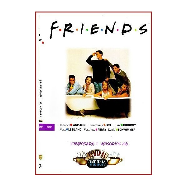 FRIENDS TEMPORADA 1 DISCO 2 EPISODIOS 4-6
