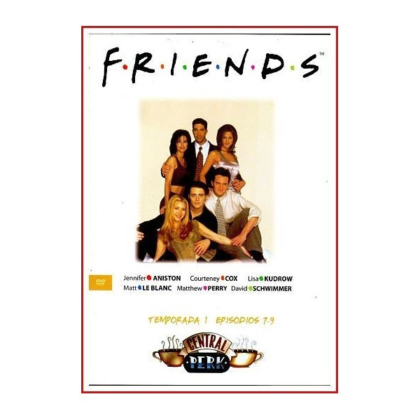 FRIENDS TEMPORADA 1 DISCO 3 EPISODIOS 7-9