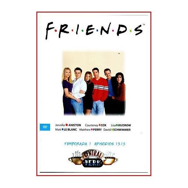 FRIENDS TEMPORADA 1 DISCO 5 EPISODIOS 13-15