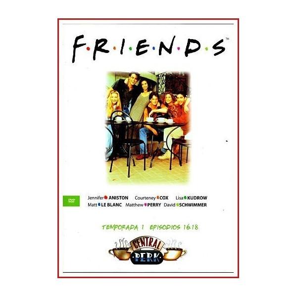 FRIENDS TEMPORADA 1 DISCO 6 EPISODIOS 16-18