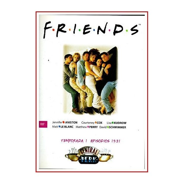 FRIENDS TEMPORADA 1 DISCO 7 EPISODIOS 19-21