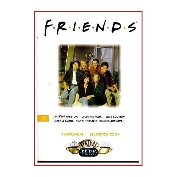 FRIENDS TEMPORADA 1 DISCO 8 EPISODIOS 22-24
