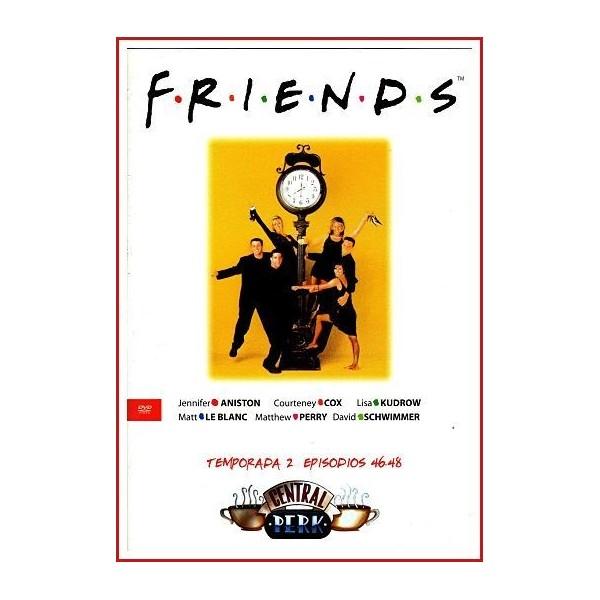 FRIENDS TEMPORADA 2 DISCO 16 EPISODIOS 46-48