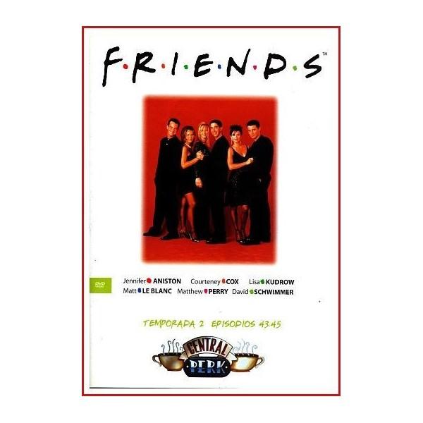 FRIENDS TEMPORADA 2 DISCO 15 EPISODIOS 43-45