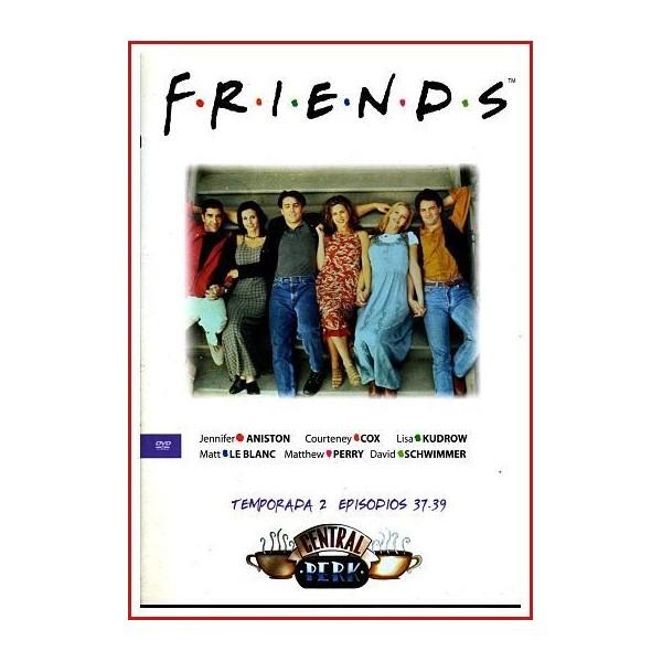 FRIENDS TEMPORADA 2 DISCO 13 EPISODIOS 37-39