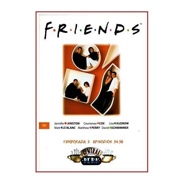 FRIENDS TEMPORADA 2 DISCO 12 EPISODIOS 34-36