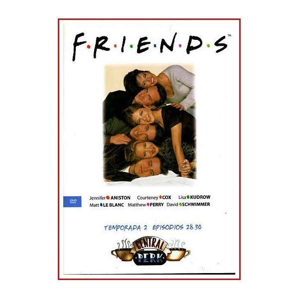 FRIENDS TEMPORADA 2 DISCO 10 EPISODIOS 28-23