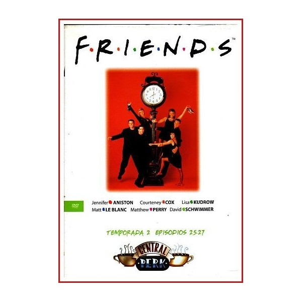 FRIENDS TEMPORADA 2 DISCO 9 EPISODIOS 25-27
