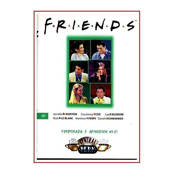 FRIENDS TEMPORADA 3 DISCO 17 EPISODIOS 49-51