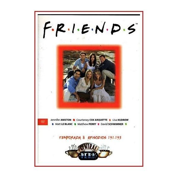 FRIENDS TEMPORADA 8 DISCO 64 EPISODIOS