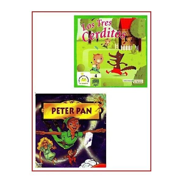 PETER PAN - LOS TRES CERDITOS