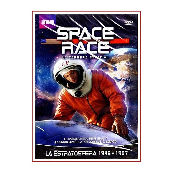 SPACE RACE (LA CARRERA ESPACIAL) LA ESTROTOSFERA 1946 - 1957 DVD 2005