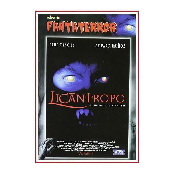 LICANTROPO EL ASESINO DE LA LUNA LLENA DVD 1996 Terror, Hombres lobo