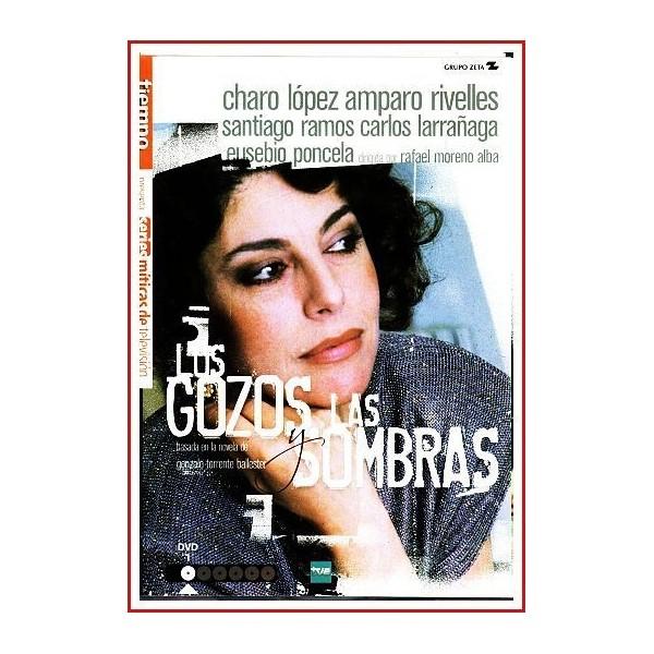 LOS GOZOS Y LAS SOMBRAS SERIE COMPLETA 6 DVD