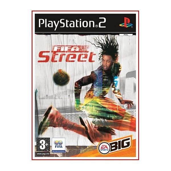 CARATULA ORIGINAL PS2 FIFA STREET