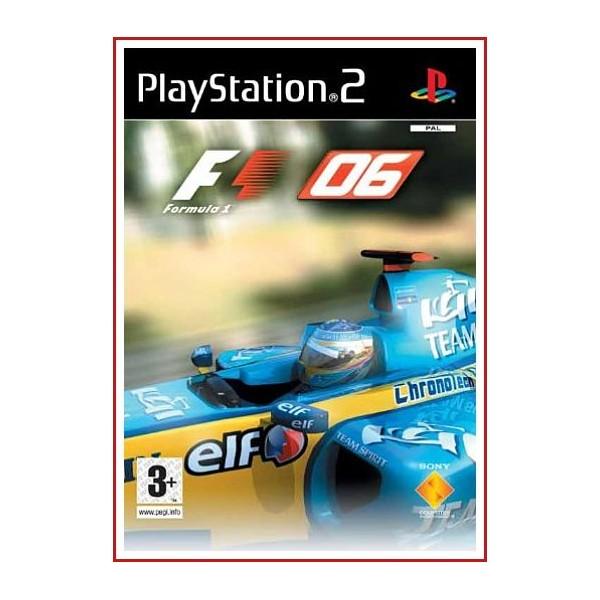 CARATULA ORIGINAL PS2 F1 06
