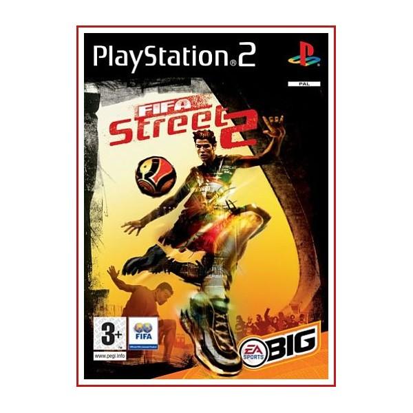 CARATULA ORIGINAL PS2 FIFA STREE 2