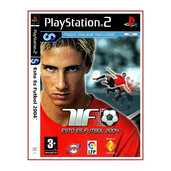CARATULA ORIGINAL PS2 F1 06 ESTO ES FUTBOL 2004