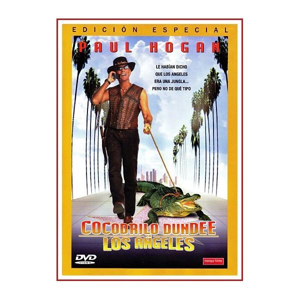 CARATULA ORIGINAL DVD COCODRILO DUNDEE LOS ANGELES