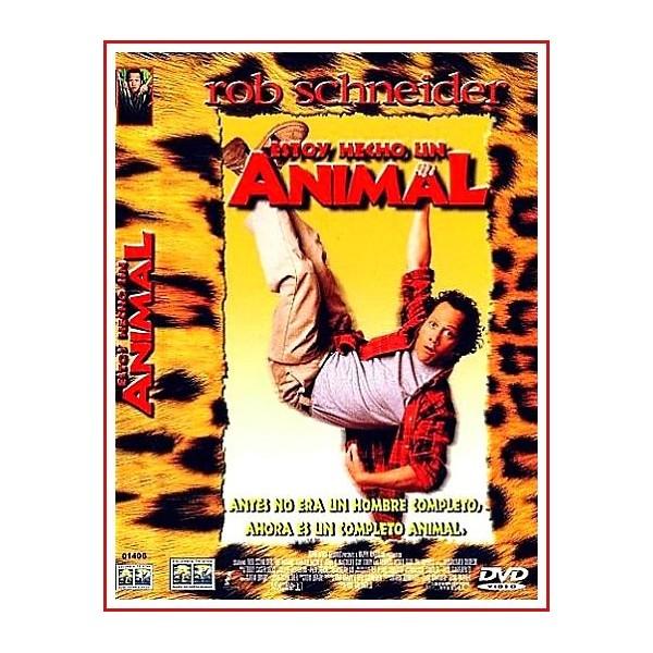CARATULA ORIGINAL DVD ESTOY HECHO UN ANIMAL