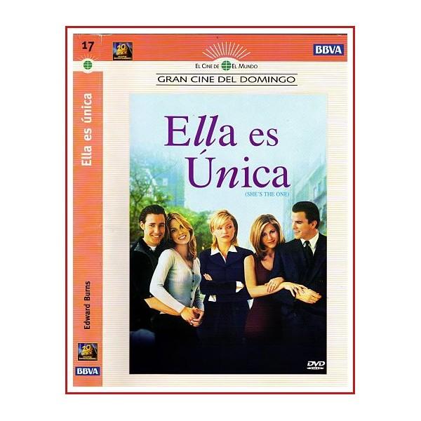CARATULA ORIGINAL DVD ELLA ES ÚNICA