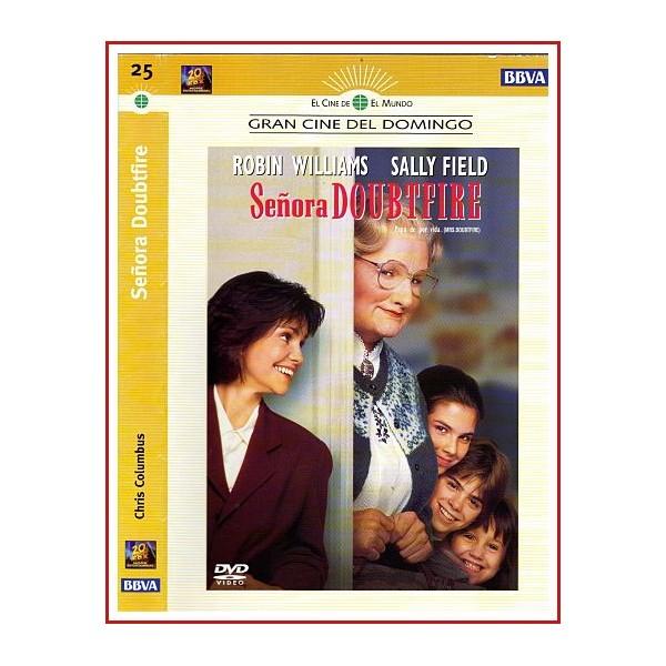 CARATULA ORIGINAL DVD SEÑORA DOUBTFIRE