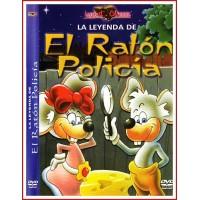 CARATULA DVD LA LEYENDA DE: EL RATÓN POLICÍA