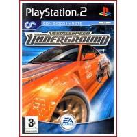 CARATULA ORIGINAL PS2 NEED FOR SPEED UNDERGROUND