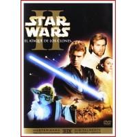 STAR WARS II EL ATAQUE DE LOS CLONES DVD 2002 Director George Lucas