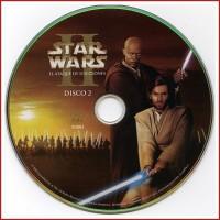DISCO EXTRA DVD STAR WARS II EL ATAQUE DE LOS CLONES