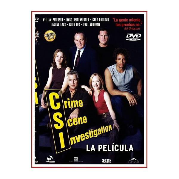 CARATULA ORIGINAL DVD CSI CRIME SCENE INVESTIGATION LA PELÍCULA