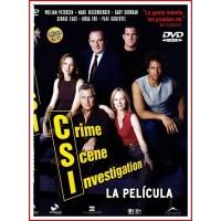 CARATULA DVD CSI CRIME SCENE INVESTIGATION LA PELÍCULA