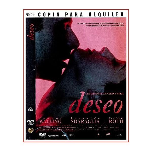 CARATULA DVD DESEO